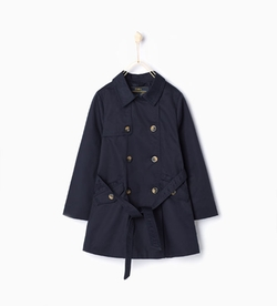 Zara - Trench Coat With Belt