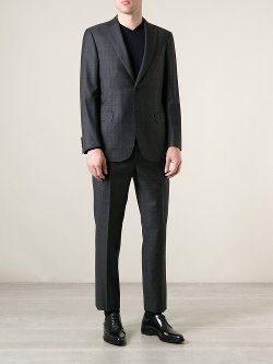 Brioni  - Checked Suit