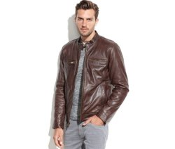 Guess - Leather Moto Jacket