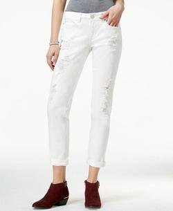 American Rag - Ripped White Wash Boyfriend Jeans