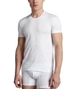 Ermenegildo Zegna - Crewneck Stretch-Cotton Tee