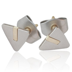 Kirsten Sander - Triangle Stud Earrings