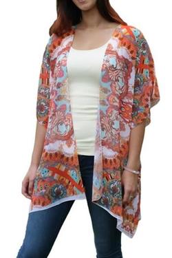 Sienna Rose - Paisley Kimono Cardigan