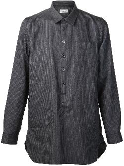 UNDERCOVER  - stripe button down
