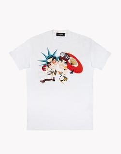 Dsquared2 - Dean & Dan Around The World T-Shirt