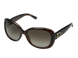Gucci - Oversize Contrast Sunglasses