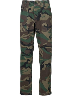 Stussy   - Camouflage Print Trousers