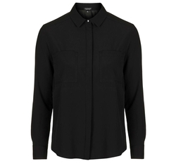 Topshop - Long Sleeve Fitted Shirt