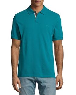 Burberry Brit - Short-Sleeve Pique Polo Shirt