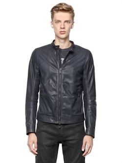 Belstaff  - Gransdale Polished Leather Moto Jacket