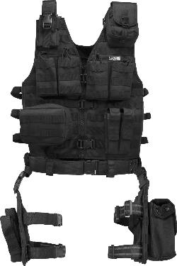 Barska -  Loaded Gear Tactical Vest and Leg Platform