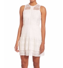 Parker - Nerissa Eyelet Lace Combo Dress