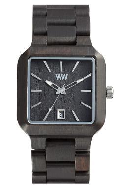 WeWOOD - Metis Square Wood Bracelet Watch