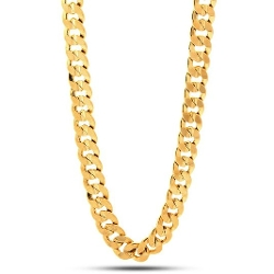 King Ice - Cuban Curb Chain Necklace