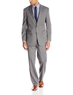 Jones New York - Graham Two-Button Side Vent Herringbone Suit