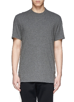 Neil Barrett   - Side Zip Tech Jersey T-shirt