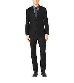 Michael Kors  -  Slim-Fit Two-Button Wool Suit