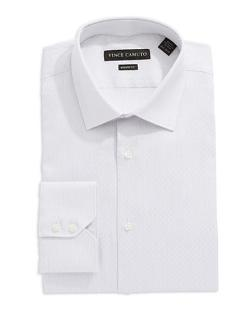 Vince Camuto  - Modern Fit Dobby Striped Dress Shirt