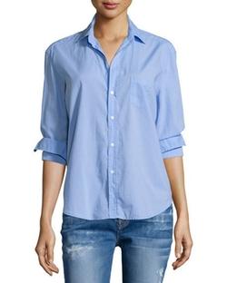 Frank & Eileen - Button-Front Poplin Shirt