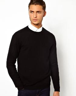 ASOS  - Merino Crew Neck Sweater