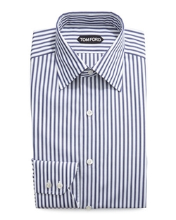 Tom Ford - High Definition Striped Dress Shirt