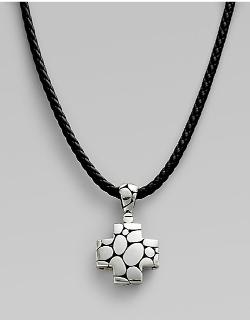 John Hardy  - Kali Cross Necklace