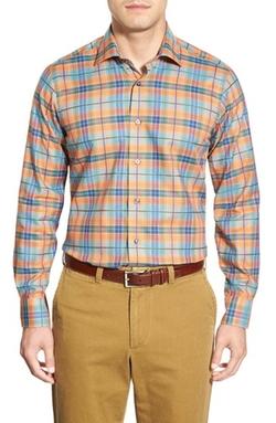 Robert Talbott - Crespi Plaid Woven Sport Shirt