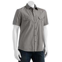 Sonoma Life + Style - Woven Casual Button-Down Shirt
