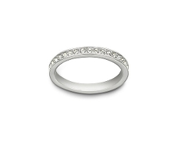Swarovski - Rhodium Plated Ring
