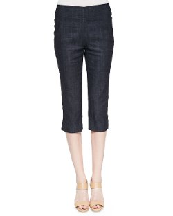 Donna Karan   - Denim Peg Capri Pants