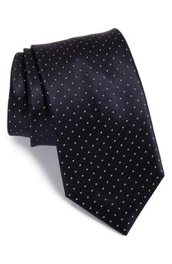 Brioni - Polka Dot Silk Tie