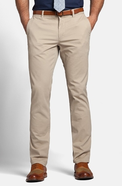 Bonobos  - Slim Fit Washed Cotton Chino Pants