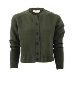 Marni - Crewneck Wool Cardigan