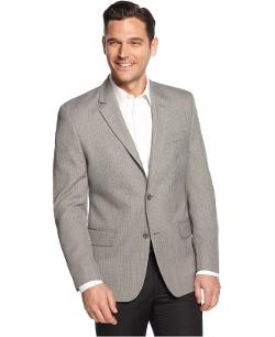 Andrew Fezza - Grey Texture Slim Fit Sport Coat