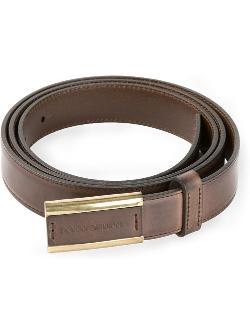 Dolce & Gabbana  - Metallic Trim Buckle Belt