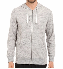Reebok - Elements Pop Slub Full Zip Hoodie