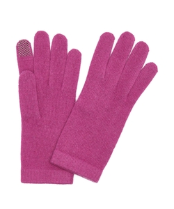 Portolano - Berry Cashmere Itouch Gloves