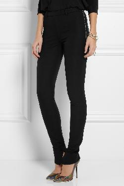ROLAND MOURET - Mortimer stretch cotton-twill skinny pants