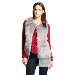 Cliche - Faux Fur Sweater Vest