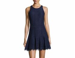 Joie - Adisa Sleeveless Lace Fit & Flare Dress
