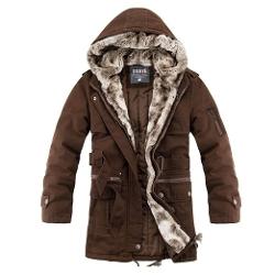 Ruaye - Faux Fur Overcoat Winter Parka