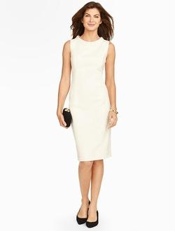 Talbots - Portrait Collar Sheath Dress