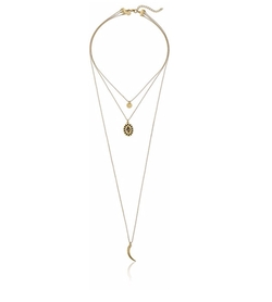 Jules Smith  - Soleil Layered Strand Necklace
