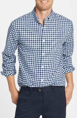 Bonobos  - Ging Crosby Gingham Standard Fit Sport Shirt