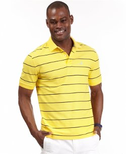Nautica  - Core Striped Performance Deck Pique Polo