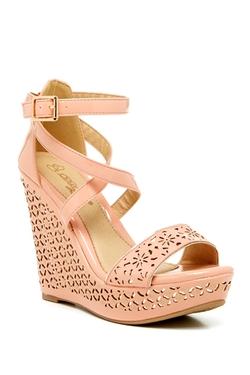 Elegant Footwear - Cree 2 Wedge Heel Sandals