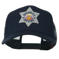 E4hats  - USA Security Officer Patched Mesh Back Cap