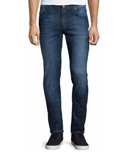 Nudie Jeans - Nudie Thin Finn Washed Denim Jeans