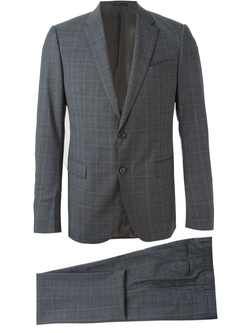 Armani Collezioni  - Fine Check Formal Suit