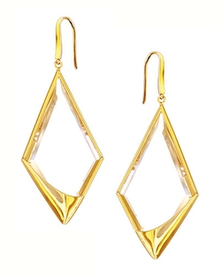 Lana	  - Elite Jetset Crystal Dangle Earrings